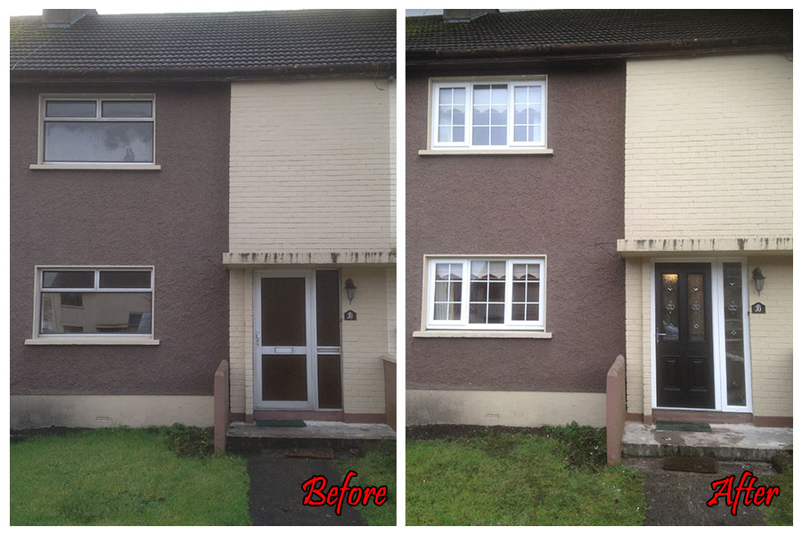 RMcD Windows & Doors before & after